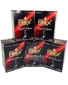 Firex Kare Nargile Kömürü